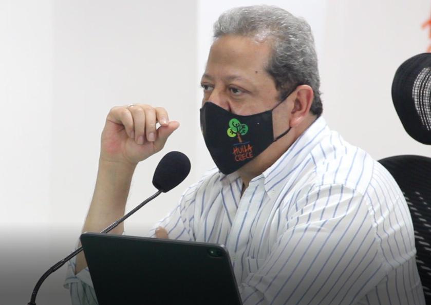 Gobernador del Huila Luis Enrique Dussán López