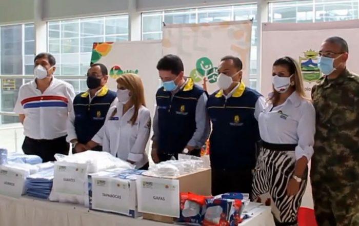 UNGRD, Entregó Elementos de Bioseguridad a la ESE Hospital Universitario.