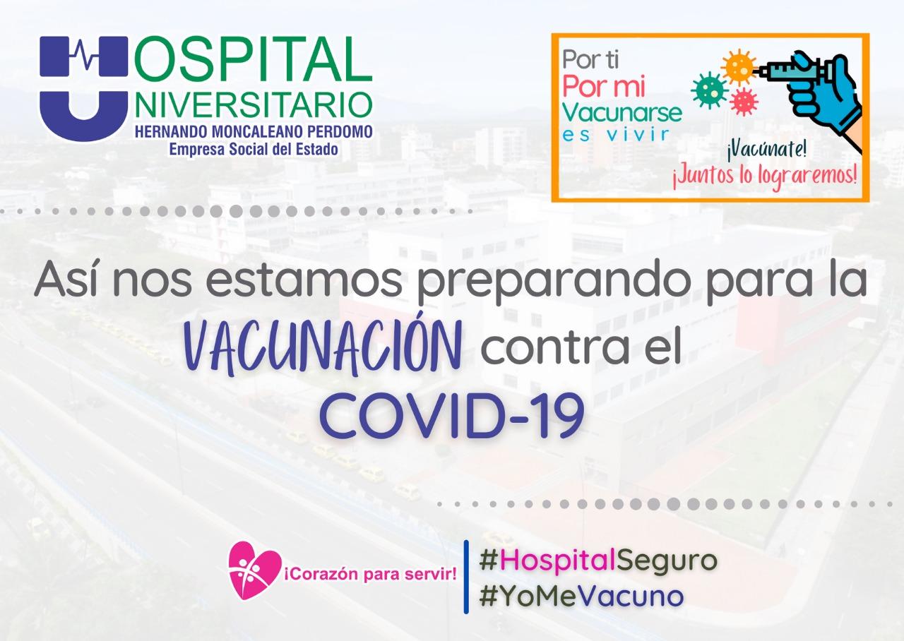 Vacunación contra el COVID19